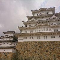 姫路城と魚の棚商店街の本場の明石焼きと大阪B級飲んだくれ旅