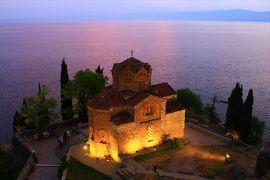 東欧12カ国巡り16Жのんびりオフリド湖畔で過ごす