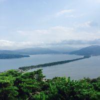 天橋立と籠神社