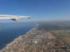 イベリア周遊の旅(3)ローマ・フミチノ空港を離陸。