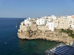 プーリア州優雅な夏バカンス♪ Vol83(第5日) ☆Polignano a mare:「Hotel Covo dei Saraceni」スイートルームのテラスで優雅にくつろぐ♪