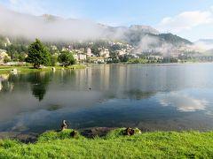 2017年7月 スイス 3日目と4日目の朝 サンモリッツ,バート地区の散歩