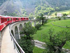 2017年7月 スイス3日目 その3 ベルニナ・ディアレヴォレッツアからティラーノまで急行列車に乗車