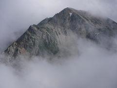 白馬岳 猿倉から大雪渓を登る