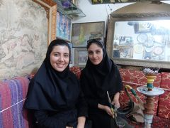 イラン2017・・・(7)イスファハン 「イランの真珠」「世界の半分」 街から消えた水タバコ