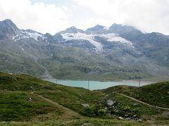 2017年7月 スイス 3日目その4 ティラーノでの自由散策の後バスでベルニナ峠を越えサンモリッツに戻りました