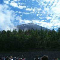 バスツアーで富士山五号目へ!