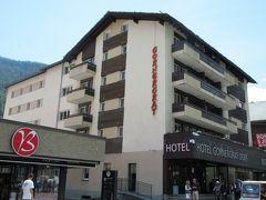2017年7月 スイス 4日目 ツェルマットのホテルゴルナーグラートドルフに2泊しました。