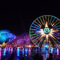 夏休み ディズニーランドリゾート&ディズニーカリフォルニアアドベンチャー 2日目