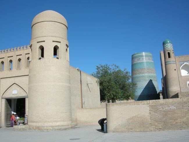 ウズベキスタン旅行記 その⑤ ブハラ~ヒヴァ移動日、ちょっとだけヒヴァ観光