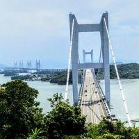 岡山☆鷲羽山から瀬戸大橋を眺めました