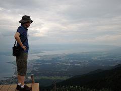 奧琵琶湖ぐるっと一周8景めぐり2日目(5景 琵琶湖バレイ展望台、6景 白髭神社)