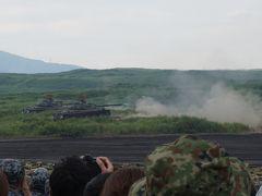 平成29年度陸上自衛隊 富士総合火力演習  初めて見る火を噴く戦車にビックリ!