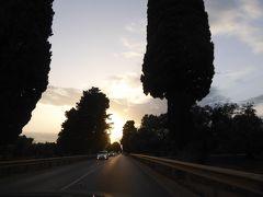 プーリア州優雅な夏バカンス♪ Vol147(第8日) ☆Ostuni:黄昏のオリーブ畑の中を走る♪