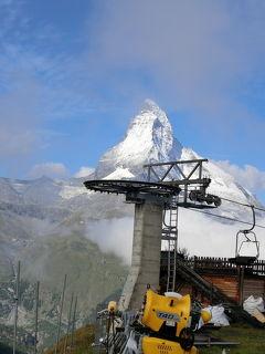 2017 爺とお嬢のスイス旅 Zermatt~スネガ~ゴルナ―グラート