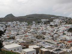 ギリシア1日目 歴史の島 ロードス島 ① ヨーロッパ最古の町・白い村リンドス