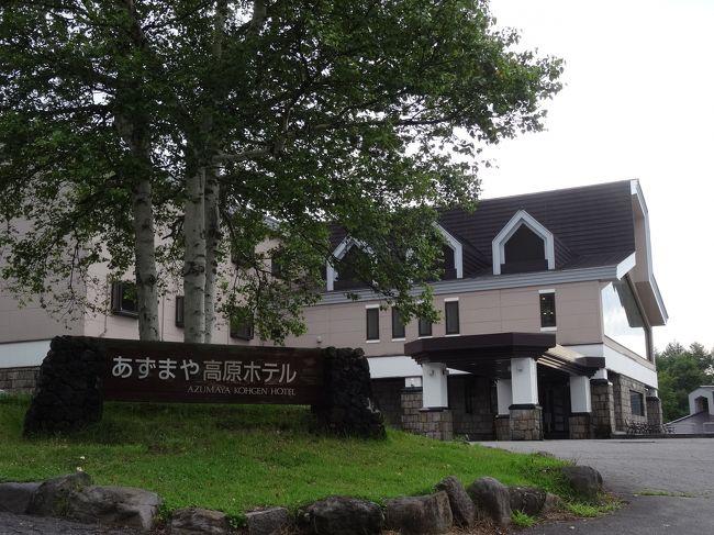 駒ヶ根を後にして上田の一軒ホテル