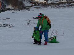 ノルウエーのナルビク。オーロラ・スキー・魚釣り・街並み