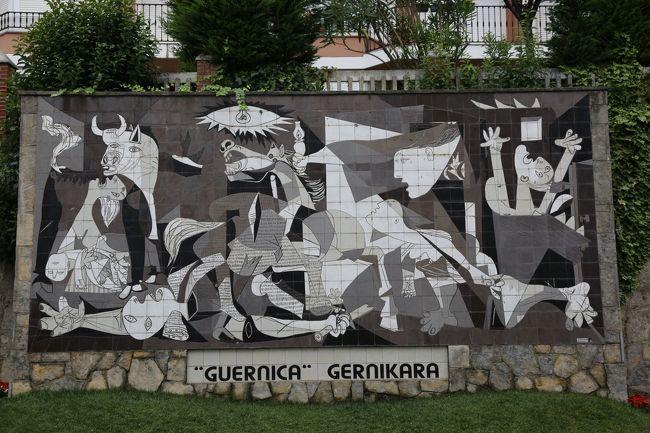 ベルメオを散策した後、ゲルニカに移動。<br /><br />バスク議事堂やゲルニカ(レプリカ)を見たりして散策後、1時前にZallo Barriで昼食。<br /><br />食後、ビルバオに戻る。<br />