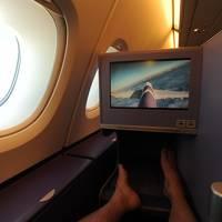 成田~バンコク~ストックホルム  タイ国際航空ビジネスクラス