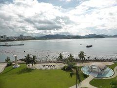 3歳娘を連れて台風シーズンの海南島5日間の旅3-外資ホテルでリゾート気分を満喫