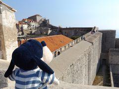 グーちゃん、クロアチアへ行く!(ドブロブニク城壁/暑くても前進あるのみ!編)