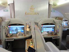 エミレーツ航空 ファーストクラス スイート A380 [成田→ドバイ→ヨハネスブルグ]   南アフリカ&モザンビーク1