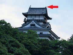 2017 天守閣鯱が落雷で破損した国宝犬山城と城下町をぶらっと散策