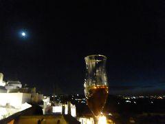プーリア州優雅な夏バカンス♪ Vol166(第9日) ☆Ostuni:ホテル「La Sommita Relais」テラスで夜景を眺めながら食後酒♪