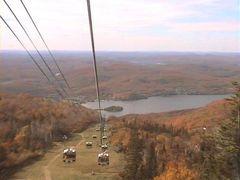 動画 アメリカからカナダへ紅葉を求めてのドライブその2 トランブラン山(ローレンシャン)のリフトから3景。