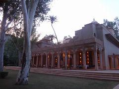 緑深いオアシス、amanbaghで瞑想三昧の休日