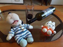 グーちゃん、クロアチアへ行く!(ザダル/赤い夕陽より、赤いワイン!編)