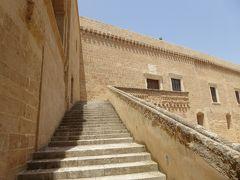 プーリア州優雅な夏バカンス♪ Vol171(第10日) ☆Copertino:「コペルティーノ城」(Castello di Copertino)パテオから眺めて♪