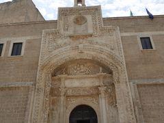 プーリア州優雅な夏バカンス♪ Vol173(第10日) ☆Copertino:「コペルティーノ城」(Castello di Copertino)最後に城門を眺めてさようなら♪