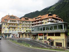 2017年7月 スイス 6日目からウェンゲンのシルバホーンに2泊しました。
