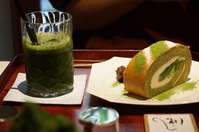 前日急に京都に行くことを決め、夏の京都はハモでしょ!<br />ってことであわてて予約。<br />合わせて信長ゆかりの地をまわりつつ和菓子を買いました~!<br />行ってみたかった抹茶のロールケーキの店にも!