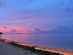 サイパン戦争遺構と美しい海