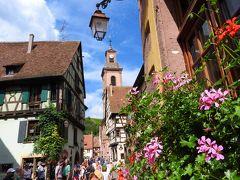 メルヘンな町並みと美味しいモノを求め、行こう!アルザスへ♪コルマールを飛び出して、近くにある可愛い村巡り♪「アルザスの真珠」と呼ばれる、美しい村『リクヴィル』で、ミシュラン1つ☆の絶品ランチを頂きます!!! vol.9