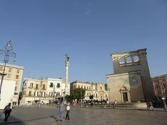 プーリア州優雅な夏バカンス♪ Vol182(第10日) ☆Lecce:久しぶりのレッチェ旧市街♪美しい「Piazza Sant'Oronzo」優雅に歩く♪