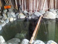犬連れで新潟ドライブ・ヤスダヨーグルトと咲花温泉望川閣(エメラルドグリーンの湯)