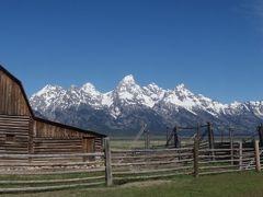 アメリカ西部国立公園巡り 8(ジャクソン~グランドテイトン)