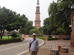 初めてのインド  その2(クトゥブ・ミナール観光と車窓からの写真)