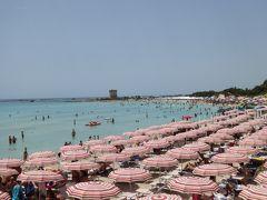 プーリア州優雅な夏バカンス♪ Vol191(第11日) ☆Porto Cesareo:午後も優雅なビーチバカンス♪まどろむように過ごして♪