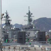 2006年(平成18年)1月広島の湯坂温泉 竹原 呉(護衛艦見学等) 江田島(旧海軍兵学校) 西能美島一周等レンタカーで義母と妻と回ります。