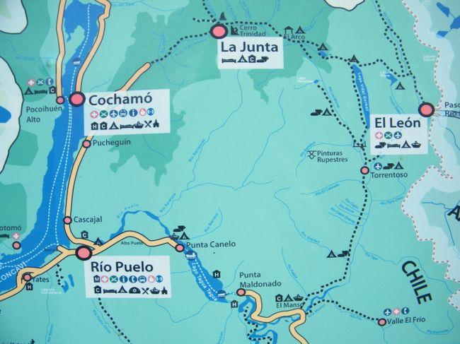 ガウチョトレイル(コチャモ)<br /> <br />チリのヨセミテと名高いCOCHAMOにトレッキングして来ました。<br />せっかくなので、Cochamo Circuit 別名ガウチョトレイルを歩いて来ました。大体90㎞くらいです。EL MANSOからLA JUNTAまでです。プエルトモンからバスとフェリーを乗り継ぎトレイルヘッドへ。<br />その名の通り馬の道なので、人が歩くには厳しいトレイルでした。かつ、全てのトレイルが誰かの私有地を通過しているので、ガウチョや牧場主の好意で大自然を楽しんで来ました。本物のガウチョにも会い、馬や豚や鶏に囲まれてテントを張ったり、楽しい冒険でした。<br />日本人初踏破?だったようです。<br />LA JUNTAは本当にヨセミテみたいでしたが、国立公園でない所がスゴかった。<br />
