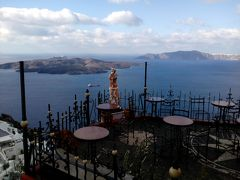 ギリシャの世界遺産周遊、脱線してサントリーニ島へ