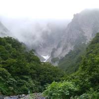 雨だけど谷川岳、一の倉沢を見てきました。
