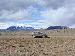 アイスランド3歳&9歳とキャンプ旅(1) 内陸ハイランド。北緯65度の砂漠を4WDで爆走。