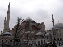 トルコ観光3 イスタンブール、ブルーモスクとアヤソフィヤ等
