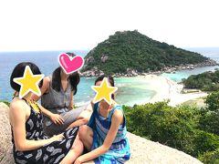 サムイ島旅行☆スピードボートでナンユアン島へ☆フォーシーズンズリゾートコサムイ宿泊☆